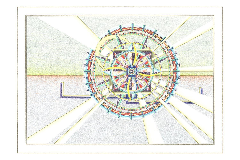 Geometrische Kunst 01-18 Janny Coster| Heilige Geometrie