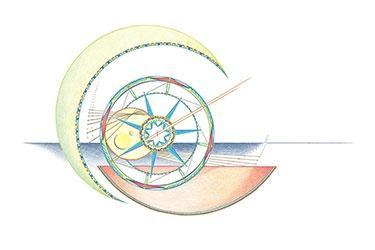 Geometrische Kunst 02-18 Janny Coster| Heilige Geometrie