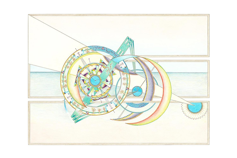 Geometrische Kunst 04-19 Janny Coster| Heilige Geometrie
