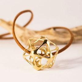 Icosa-Dodecahedron Pendant